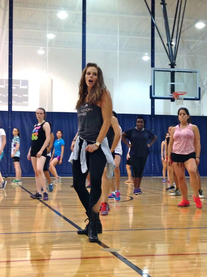 Teaching Dance Class at Rice
