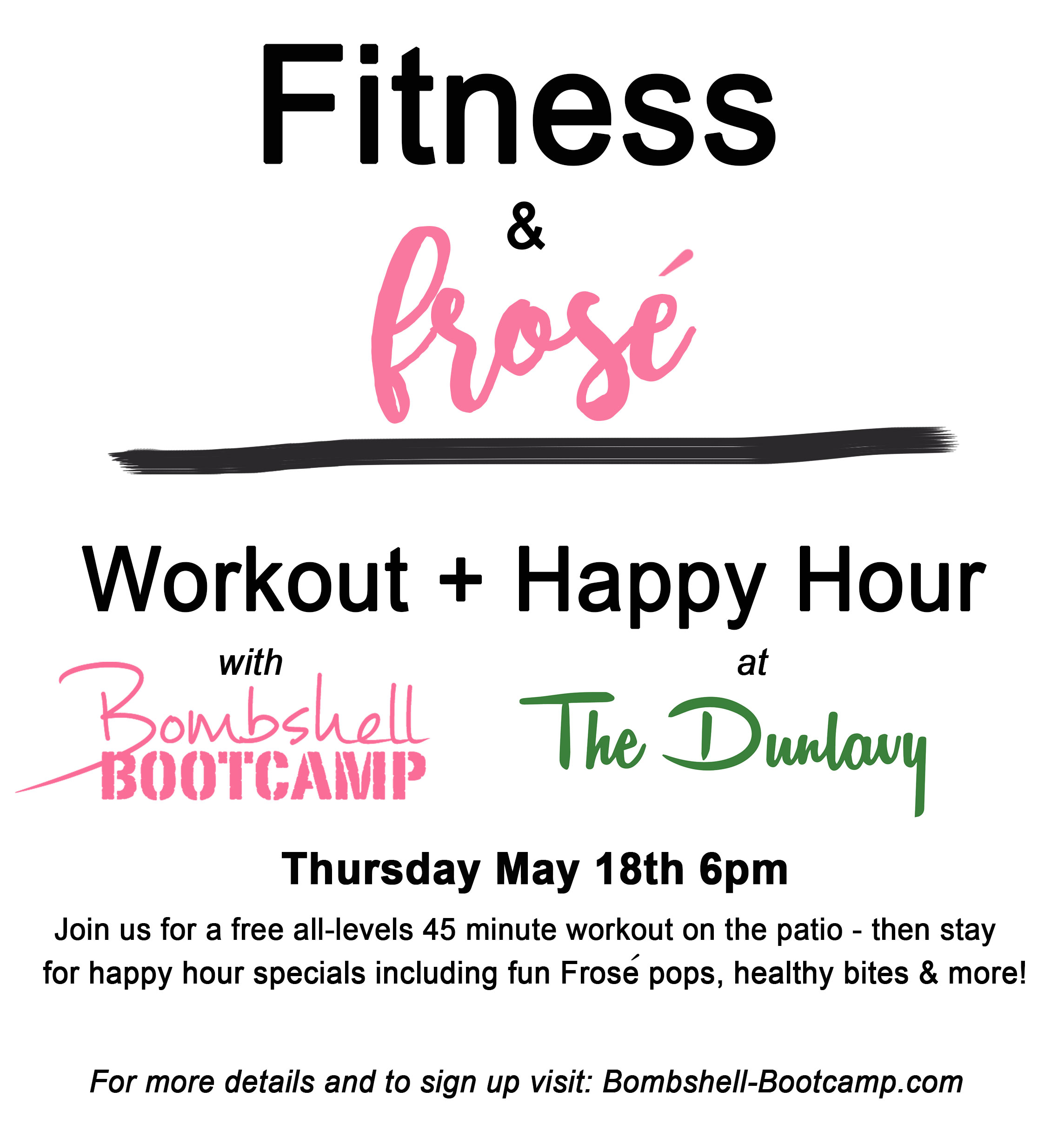 Workout Happy Hour At The Dunlavy
